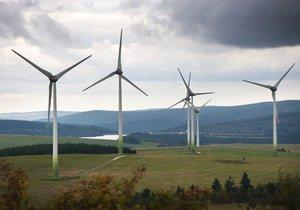Větrná elektrárna v Česku.