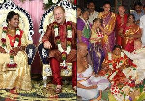 Lukáš se stal díky svatbě s Indkou celebritou.