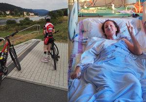 Bojovnice Tereza: Lékaři jí dávali 1% šanci na přežití. Smrtící bakterie vzala sportovkyni nohy i prsty na rukou, přežila a ujela cyklomaraton