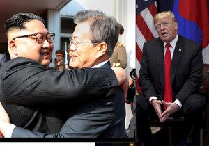 Trump, Kim a Mun jsou favorité na Nobelovu cenu míru. Šanci má i Merkelová