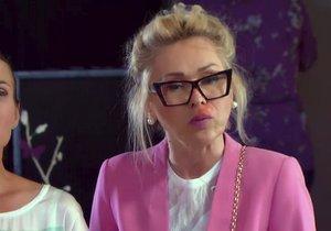 V seriálu Krejzovi popíchají Kateřinu Hrachovcovou vosy.