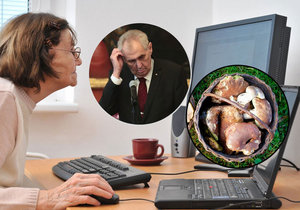 Zákaz houbaření i Zemanovo zdraví: Seniory straší falešné zprávy, jak jim nenaletět?