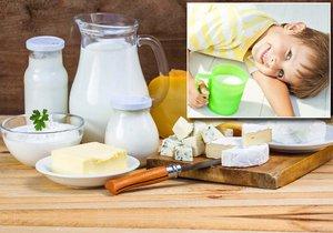 Kvalitní mléčné výrobky by měly být součástí každodenního jídelníčku dětí.
