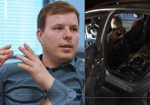 Náměstkovi chomutovského primátora hodili do auta zápalnou lahev: Pomsta, nebo protikampaň?