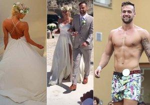 Dámy mají smůlu, Muž roku 2015 je ženatý! Romantickou veselku si odbyl v Řecku.