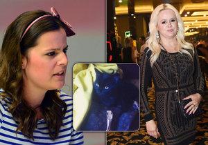 Ornella obvinila matku Moniku z toho, že jí vyhodila už druhou kočku.