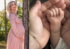 První slova Mesarošové o porodu: Jméno syna ale dál tají!