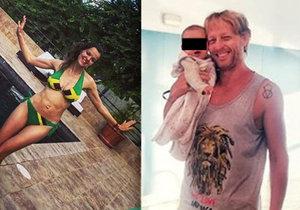 Karel Janeček s Liliou Khousnoutdinovou a jejich dcerkou Isabelou strávili dovolenou na Jamajce.