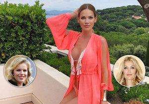 Andrea Verešová se pustila do světově známých modelek.