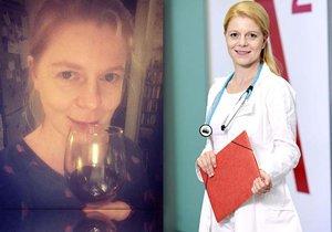 Zoubková z Ordinace tajila nemoc: Drsný zákaz alkoholu!