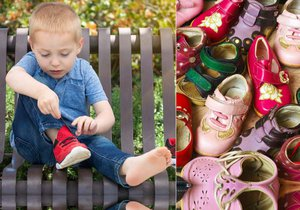 Dětem ročně kupujeme až šest párů bot. Stále ale mají poničené nohy...