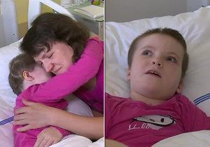 Karolínku (9) o prázdninách srazilo auto, v nemocnici je už 2 měsíce. Pomoci jí chce škola