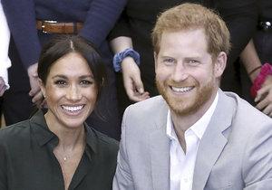 Princ Harry a vévodkyně Meghan na návštěvě hrabství Sussex