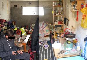 Matka se 3 dětmi živořila v garáži bez vody a topení: Nejmladšímu bylo půl roku!