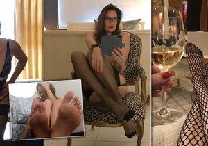 Hříšná vdova si vydělává na živobytí focením svých nohou