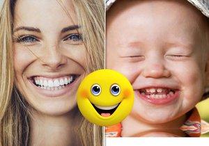 Jen si všimněte, jak často se smějí děti. Zkusíte je napodobit?