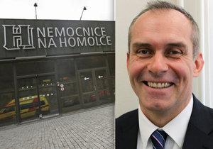 Novým ředitelem Nemocnice Na Homolce je Petr Polouček. Dosud vedl kladenský špitál