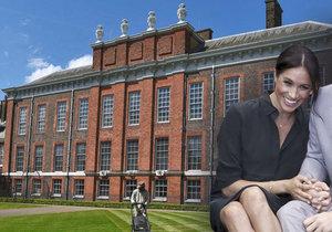 Harry a Meghan se budou stěhovat do opraveného sídla. Rekonstrukce spolkla přes 40 milionů.