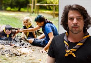 V dětství lovil bobříky ve farním sklepení. Dnes Miloš (33) stojí v čele Skautského institutu