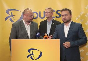 Komunální volby 2018: Tisková konference KDU-ČSL.