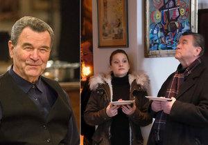 Rozhovor s Václavem Postráneckým o přátelství s Marií Poledňákovou, novém vánočním filmu Ten, kdo tě miloval a vánočních zvycích u něj doma