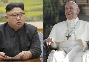 Severokorejský vůdce Kim Čong-un zve papeže Františka na návštěvu Pchjongjangu.