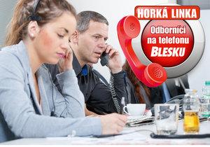 Odborníci Blesku budou příští úterý čekat na vaše telefonáty.