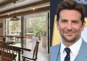 Bradley Cooper si koupil nový dům. Levný rozhodně nebyl...