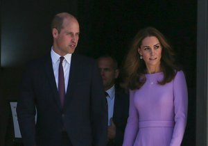 Kate, vévodkyně z Cambridge, a princ William