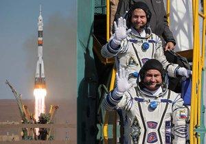 Start lodě Sojuz MS-10 se dvěma členy posádky se kvůli selhání nosné rakety nezdařil.