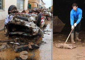 Mallorca se vzpamatovává z bleskové povodně. S úklidem pomáhá i Rafael Nadal.