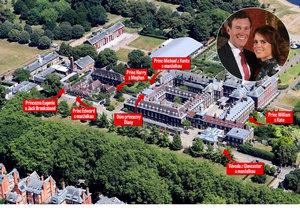 Podívejte se, kde bude princezna Eugenie s manželem Jamesem bydlet.