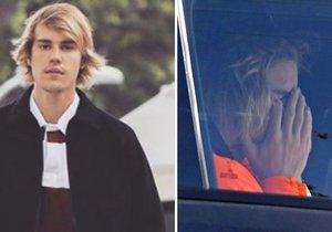 Plačící Justin Bieber...