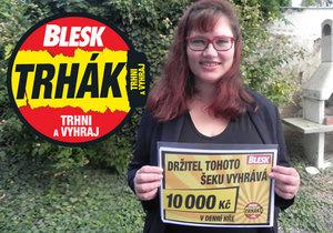 Výherkyně Eva Ovesná (43) z Brna má plán, jak utratí 10 000 Kč: Nová lednička a večeře s kamarádkami!
