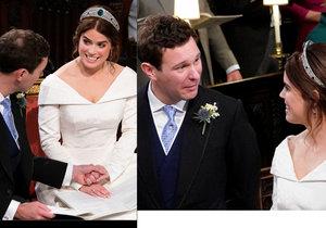 Expertka na odezírání ze rtů: Co si při královské svatbě špitali novomanželé a hosté?