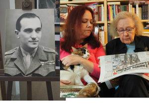 Dojetí vdovy po hrdinovi Miloši Knorrovi (†90): Blesk čtou i špionky CIA
