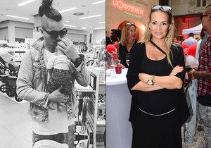 Martina Gavriely utajený porod prozradila fotkou partnera s miminkem v obchoďáku.