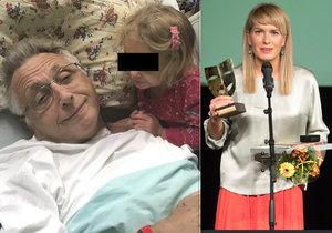 Olga Menzelová odtajnila stav manžela: Jiří už je doma z nemocnice!