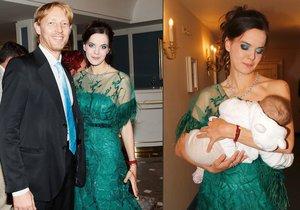Janečkova Lilia je velkým zastáncem kojení. Všude a vždycky.