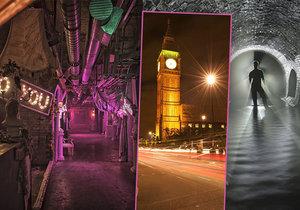 Tajemné londýnské podzemí: Co všechno se skrývá pod britskou metropolí?