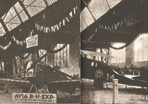 Prvorepublikový rozvoj letectví se v Praze a okolí odehrával v továrnách Aero, Avia a v Hlavních leteckých dílnách.