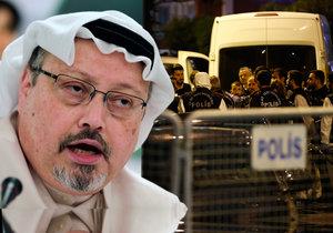 Turecká policie prozkoumala saúdskoarabský konzulát v Istanbulu, hledala důkazy o vraždě zmizelého novináře Chášukdžího.