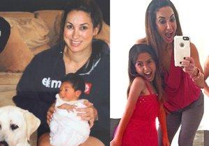Jill se rozhodla zhubnout v době, kdy měla její dcera jen pár měsíců.