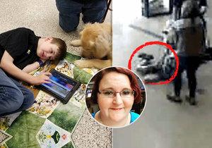Učitelka vlekla autistického chlapce po školní chodbě.
