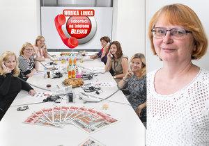 RNDr. Lucie Benešová odpovídala na vaše dotazy.