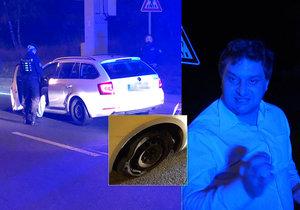 Pražští policisté zadrželi opilého řidiče.
