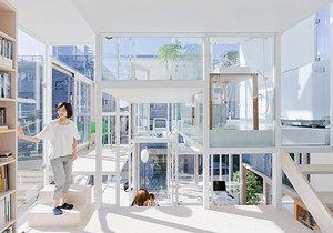 Dokázali byste žít v domě, který má fasádu ze skla?
