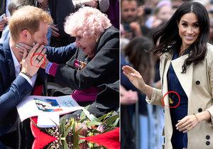 Tajemství šperků prince Harryho a vévodkyně Meghan