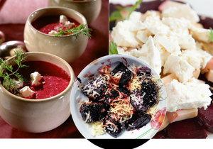 Koktejl zdraví s červenou řepou: 6 receptů na salát, polévku, přílohu i zákusek.