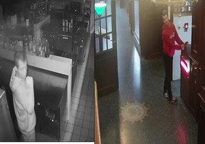 Mladý zloděj ukradl kuchaři sadu profesionálních nožů za 20 tisíc.